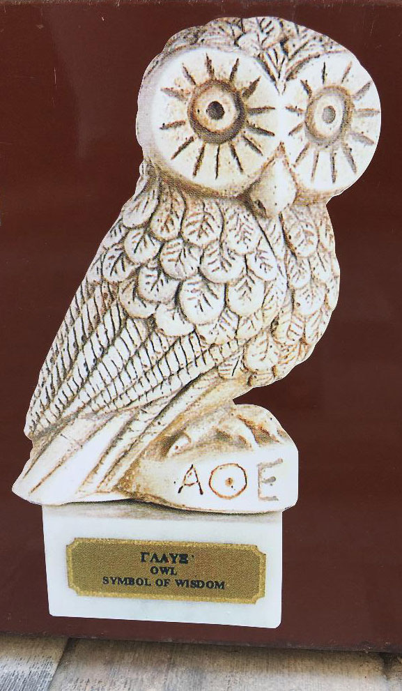 """AOE"" and the owl of wisdom"